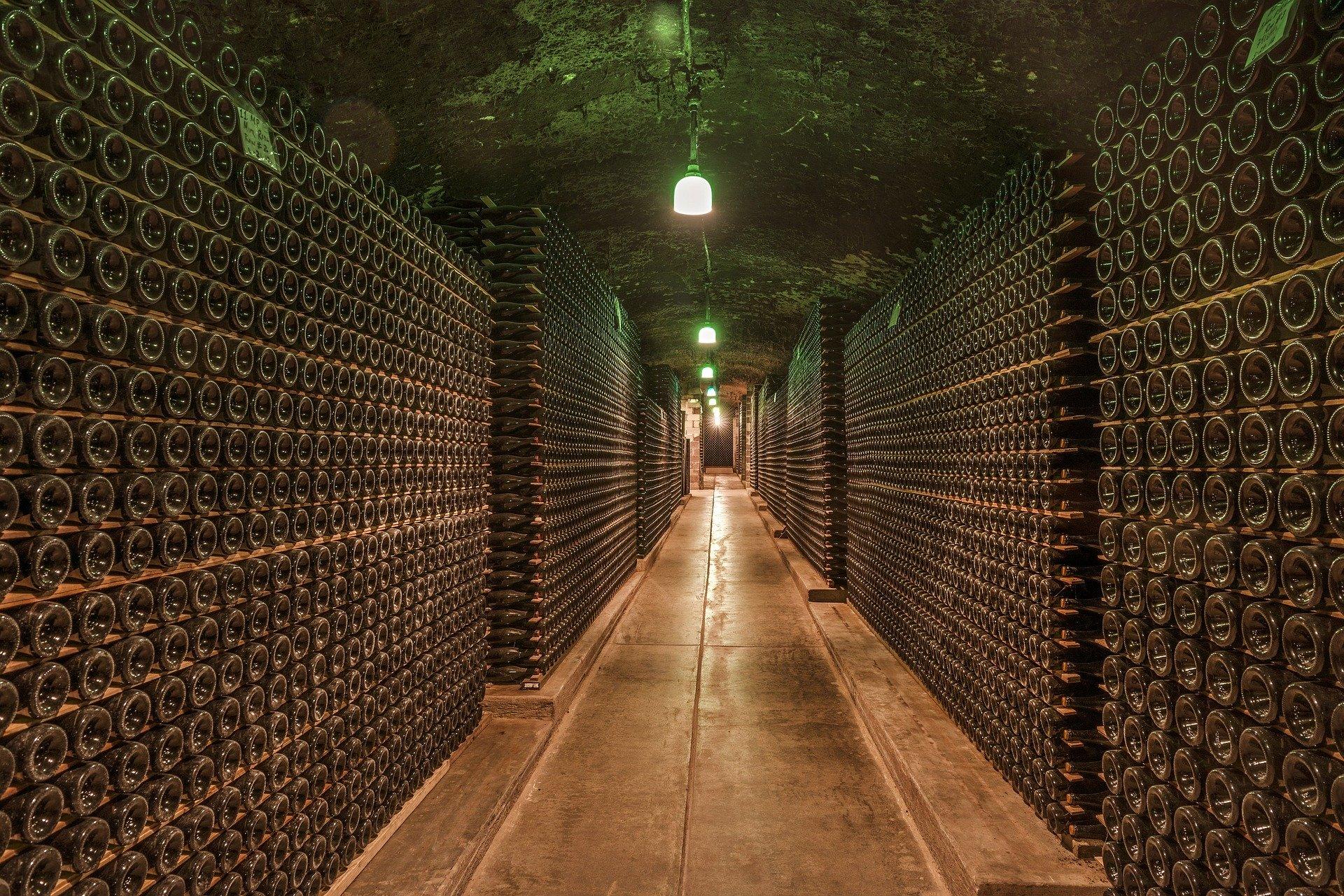 Cave à vin enterrée