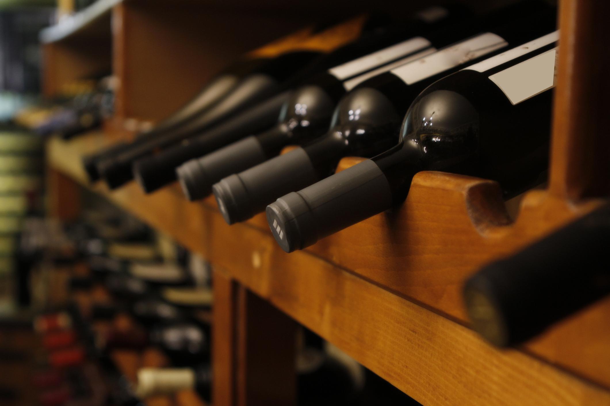 conservation vin système anti vibration