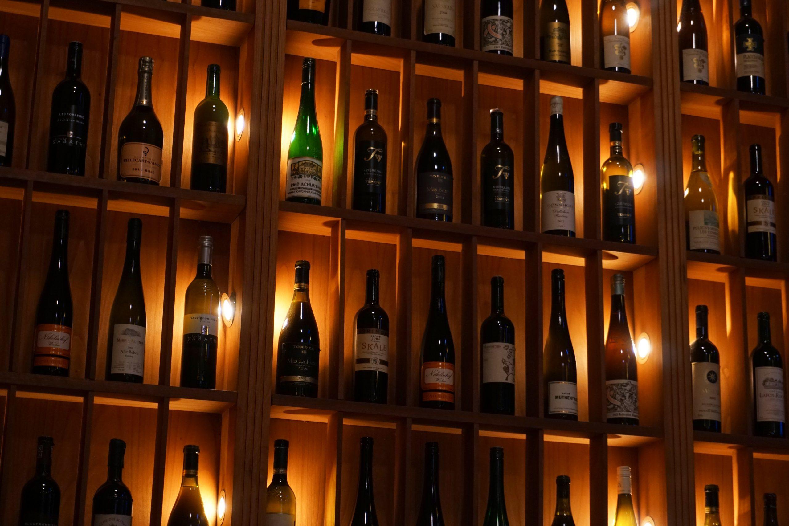 vins à mettre en cave